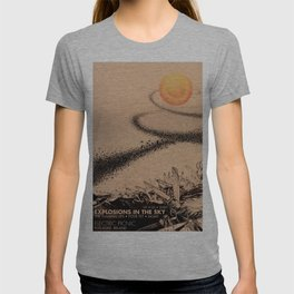 Fan-made Explosions Gig poster T-shirt