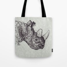 Reginald Rhinoceros Tote Bag
