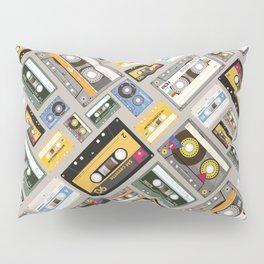 Retro cassette tape pattern 4 Pillow Sham
