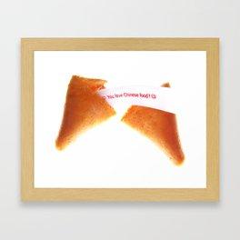 Chinese Food? Framed Art Print