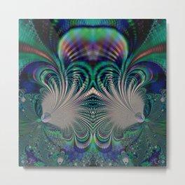 Fractal Abstract 7 Metal Print