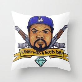 Ice Cube Throw Pillow