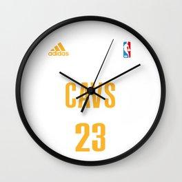 cavs 23 Wall Clock