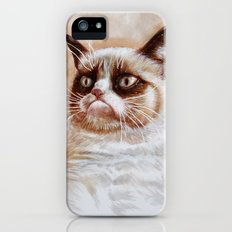 Grumpycat Slim Case iPhone (5, 5s)