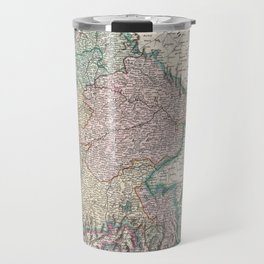 Vintage Map of Bavaria Germany (1799) Travel Mug