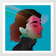Classy- Audrey Hepburn Art Print