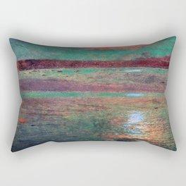 COLORED MORNING SUN Rectangular Pillow
