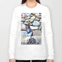 kangaroo Long Sleeve T-shirts featuring Kangaroo by Raffaella315