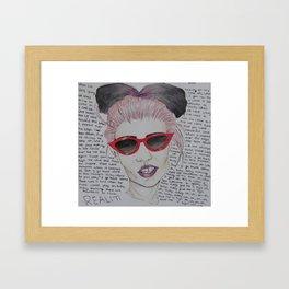 realiti Framed Art Print