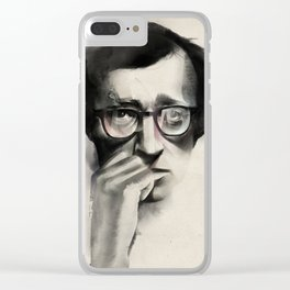 Woody Allen Clear iPhone Case
