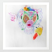 et Art Prints featuring ET by Effie Ling