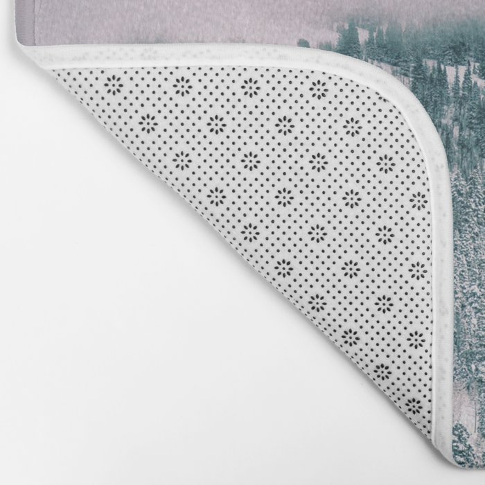 Winter love #art #buyart #society6 Bath Mat