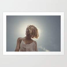 the light in you Art Print