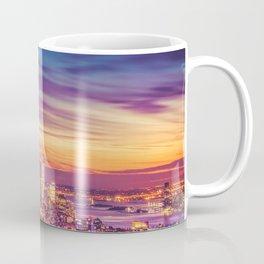 New York City Dusk Sunset Coffee Mug