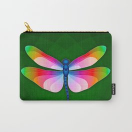 Paper Craft Dragonfly Carry-All Pouch