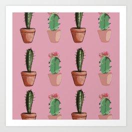 Cactus Glory Art Print