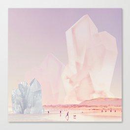 Crystal Beach Canvas Print