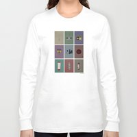 fringe Long Sleeve T-shirts featuring Fringe (colors) by avoid peril