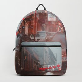 Car in Chinatown (Color) Backpack
