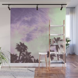 Palm Trees Over Vegas Wall Mural