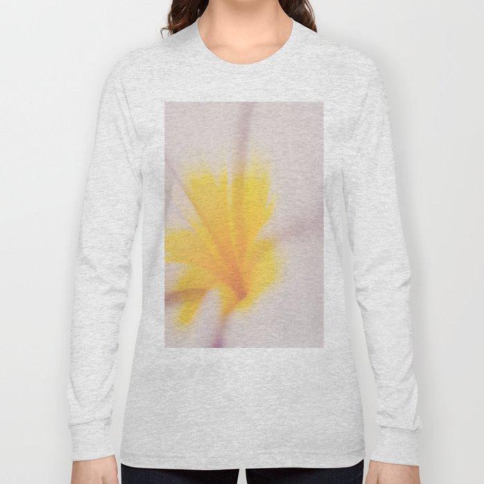 Yellow & Pink Long Sleeve T-shirt