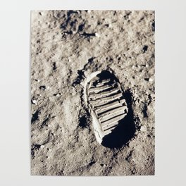 One Giant Leap For Mankind Poster