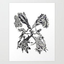 Gemini (Castor and Pollux) Art Print