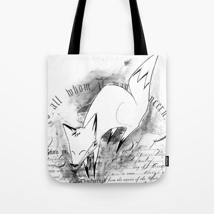 minima - deco fox Tote Bag