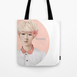 Flower Boy - Luhan Tote Bag