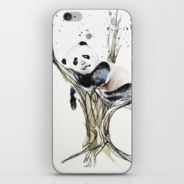Panda in the Tree iPhone Skin