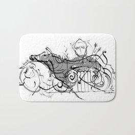 cool sketch 187 Bath Mat