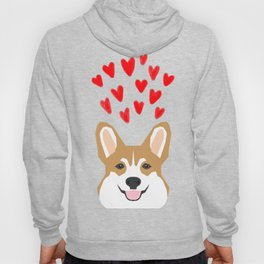 Valentines - Love Corgi  Hoody