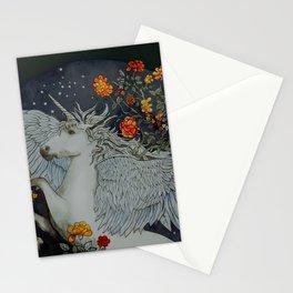 te second last unicorn Stationery Cards
