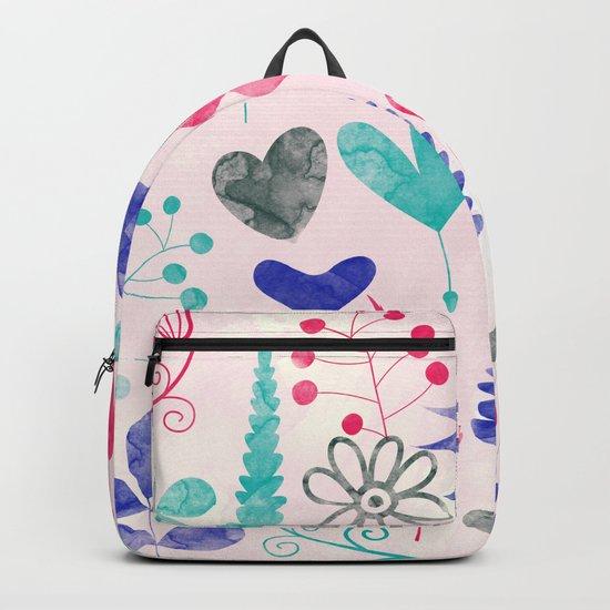 Watercolor Botanical Garden V Backpack