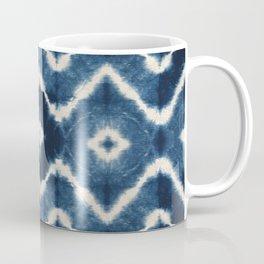 Shibori, tie dye, chevron print Coffee Mug