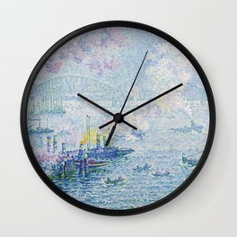 The Port of Rotterdam Wall Clock