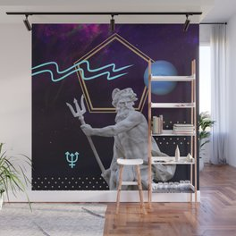 Ancient Gods and Planets: Neptune Wall Mural
