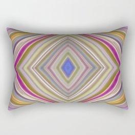 Wild Wavy Diamonds 09 Rectangular Pillow
