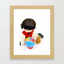 My World Framed Art Print
