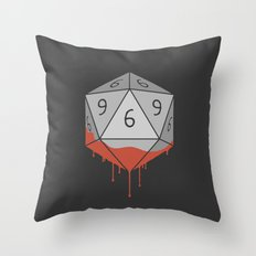 Die Throw Pillow