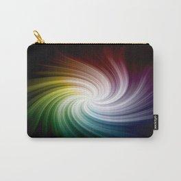 Rainbow Swirl Carry-All Pouch