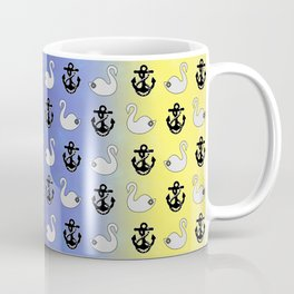 Captain Swan – Lieutenant Duckling pattern Coffee Mug