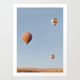 Hot Air Balloons II Art Print