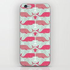 Whales & friends iPhone & iPod Skin