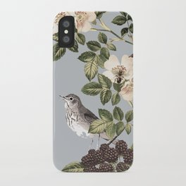 Birds and the Bees Gray iPhone Case