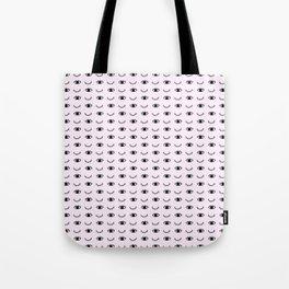 Pink eye wink Tote Bag