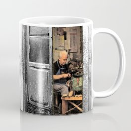 Vulture: old shoemaker Coffee Mug
