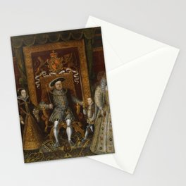 The family of Henry VIII Stationery Cards