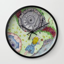 Alice Out of Wonderland Wall Clock