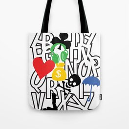 alphabet collection Tote Bag
